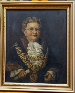 Cr. Marie Dalley, First woman mayor of Kew. 1951. Govett [artist]. Kew Historical Society collection
