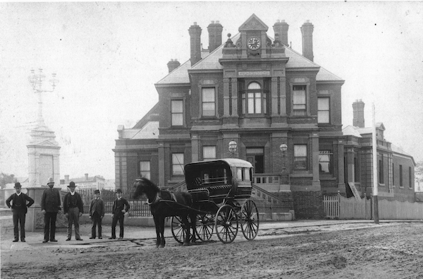 Kew Post Office [ca.1892], Kew Historical Society collection.